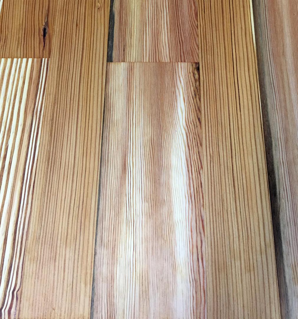 Premium Select Heart Pine Flooring